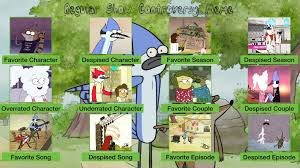 Regular Show Meme - regular show favourites by coralinefan4ever on deviantart