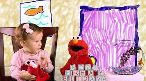 elmo 2nd birthday party invitation for ava youtube