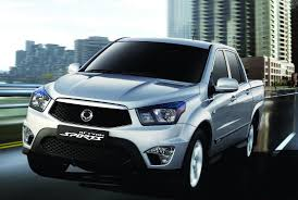 ssangyong korando sports ssangyong actyon sports facelifted a return to normal