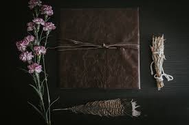 leather bound wedding albums folk leather bound wedding albums by marcela pulido