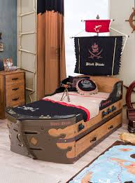 unique creative captain ship bedroom decor ideas for children in