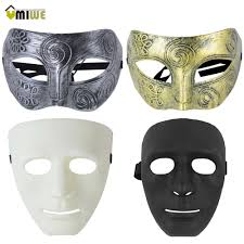 popular white blank masks buy cheap white blank masks lots from