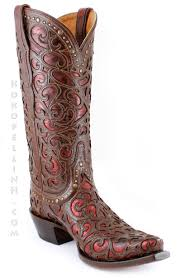 jaw dropping western glamour by lucchese boots the sierra boot in
