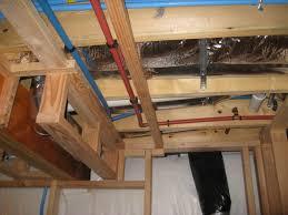 how to finish a basement ceiling cheap framing bat half concrete