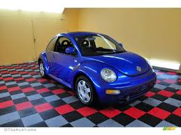 volkswagen beetle colors 2000 techno blue metallic volkswagen new beetle gls coupe