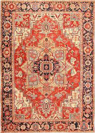 Antique Heriz Rug Heriz Carpets Fine Authentic Persian Antique Heriz Serapi Carpet