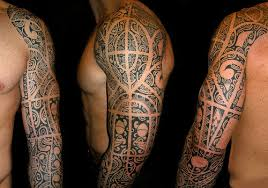 wonderful aztec tribal tattoo in 2017 real photo pictures