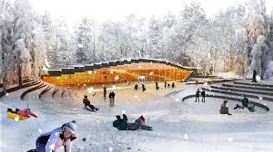 How To Make An Ice Rink In Your Backyard Big Architects Ice Hockey Rink In Umea