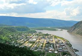 Yukon River Map Dawson City Wikipedia