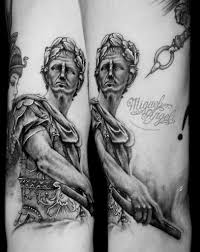 julius caesar sculpture tattoo miguel angel custom tattoo u2026 flickr