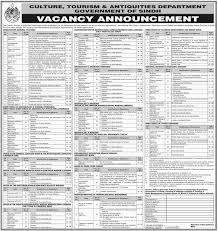 Tourism Resume Culture Tourism U0026 Antiquities Department Pakistan Jobs On 28