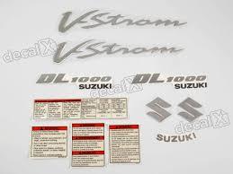 kit jogo faixa adesivo resinado suzuki vstrom dl1000 azul decalx