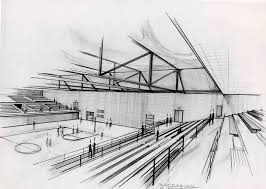 inspirations architectural buildings sketches and sketch of modern
