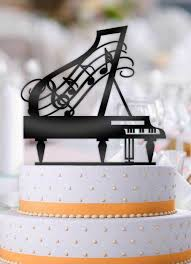 piano cake topper grand piano birthday cake topper bee3dgifts