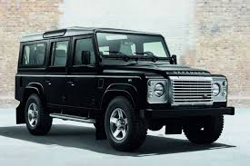 land rover defender convertible official land rover defender black pack and silver pack gtspirit