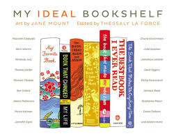 illustrated bookshelves of famous artists u0027 and writers u0027 favorite