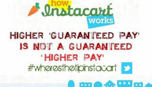 how to cope with the new instacart hours and pay rideshare dashboard