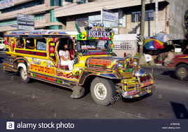 philippine jeepney philippines cebu jeepney at gaisano mall stock photo royalty free