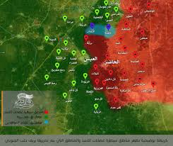 Syria Battle Map by Day Of News On The Map June 17 2016 Map Of Syrian Civil War