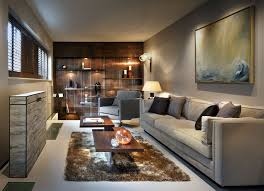 room furnishing a narrow living room on a budget cool under