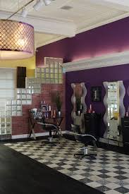 ornamental decor speakeasy installed in a hair salon for a very
