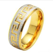 Engraving Jewelry Free Shipping 255 Gold Ring Engraving Jewelry Exquisite Design