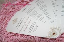 wedding program fan kits diy fan program kit template giveaway aylee bits