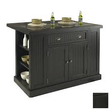 lowe u0027s kitchen islands 48 in l x 27 in w x 36 1 4 in h black
