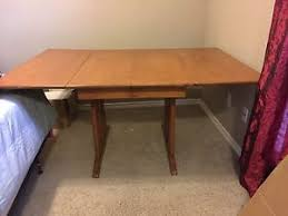 solid maple dining table 1950 s solid maple drop leaf dining table with extra leaf and 4