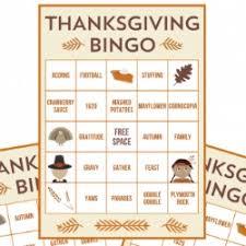free printable thanksgiving bingo cards thanksgiving