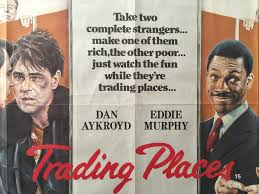 trading places 1983 uk quad the poster collector