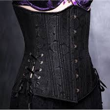 black floral satin waist cincher corset best victorian gothic black floral brocade long cut underbust corset at gothic plus gothic clothing jewelry