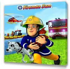 fireman sam canvas ebay