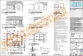 South African House Plan Exle In Accordance With The National Sa House Plans