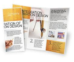 tri fold brochure template free download microsoft brochure template network administration tri fold