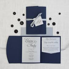 navy blue wedding invitations designs blue and gray wedding invitations also navy blue and