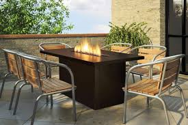 Modern Fire Pits by Modern Fire Pit Dining Table Designs Home Fireplaces Firepits