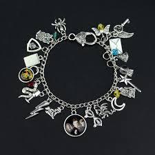 themed charm bracelet h p themed charm bracelet golden snitch silver tone