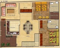 2d floor plans rendered in photoshop