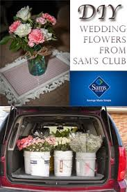 sams club wedding flowers order flowers from sam s club for wedding and arrange them