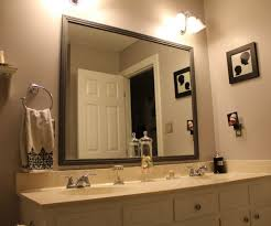 Large Framed Bathroom Wall Mirrors Soothing Large Size Plus Bathrooms Bathroom Bathrooms Design Large