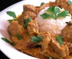 agneau korma cuisine indienne curry d agneau à l indienne recette de curry d agneau à l indienne