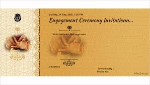 engagement ceremony invitation 47 engagement invitation designs free premium templates