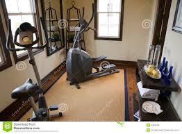 luxury home gym stock photography image 4484592