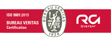logo bureau veritas certification rg system renews its iso 9001 certification