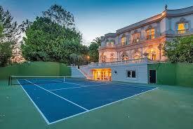 Backyard Sports Court by Backyard Backyard Tennis Inspiring Garden And Landscape Photos