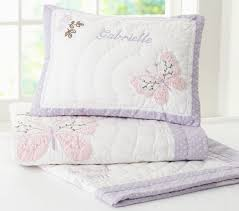 Girls Quilted Bedding by Gabrielle Quilt Pottery Barn Kids