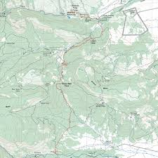 Philmont Scout Ranch Map Route From Abreu To Stockade Ridge
