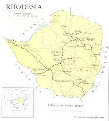Victoria Falls Map Sitemap