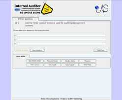 ohsas 18001 internal auditor ias e learning rms publishing